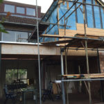 Huis verbouwen Den Bosch - uitbreiding achterkant